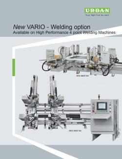 New VARIO Welding Option
