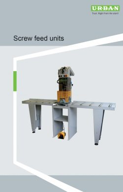Screw Feed Units